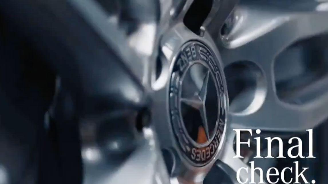 奔驰C级车生产线 走进德国不莱梅工厂