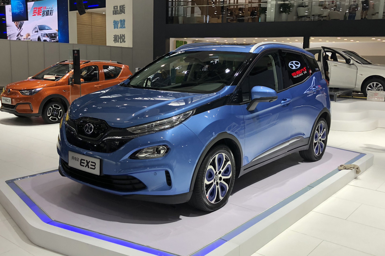 2018广州车展-北汽新能源EX3正式发布