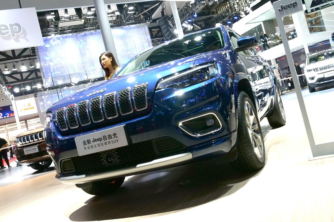 2018广州车展-全新Jeep自由光亚洲首秀