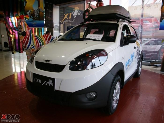 2011款瑞麒x1高清图片