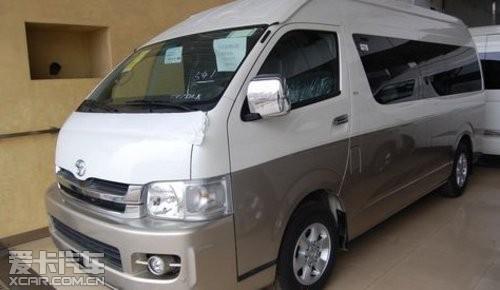丰田海狮13座柴油汽油版天津现车惊喜价高清图片