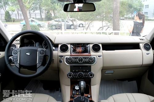 2012款路虎发现4在配置方面更加丰富,全景天窗 、导航及蓝高清图片