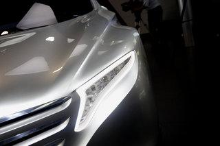 跑车 设计 奔驰/不可否认奔驰的概念设计永远是那么优雅,即便是一款富有未来...