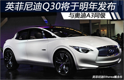英菲尼迪Q30将于明年发布 与奥迪A3同级