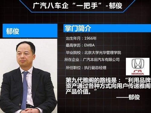 本田这个具有辉煌历史的合资公司的中方一把手,他能重振广本高清图片