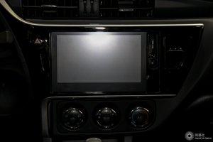 丰田卡罗拉 中央显示屏