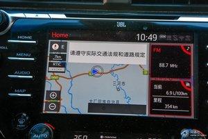 丰田凯美瑞 中央显示屏