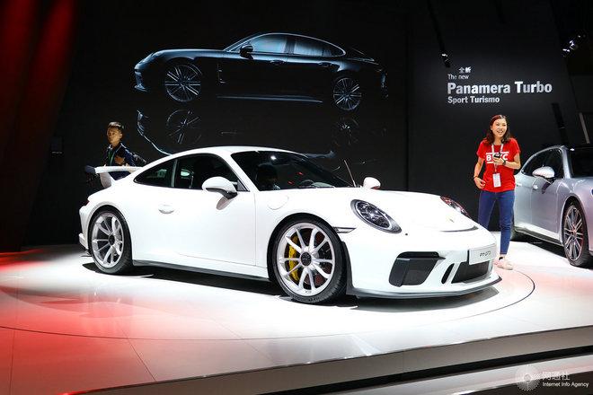 保时捷911 车展
