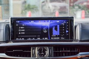 雷克萨斯LX               中央显示屏