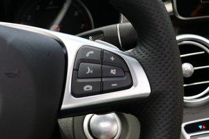 进口奔驰C级 多功能方向盘键右侧