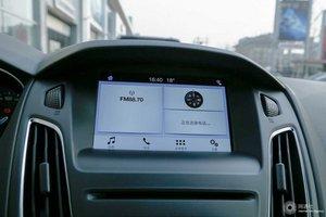福特福克斯两厢 中控屏功能
