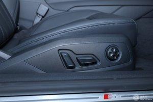 进口奥迪A5 副驾座椅调节