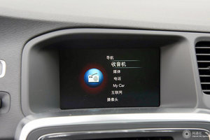 进口沃尔沃S60 中央显示屏