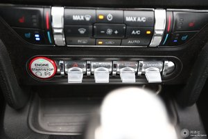 进口福特Mustang 空调调节