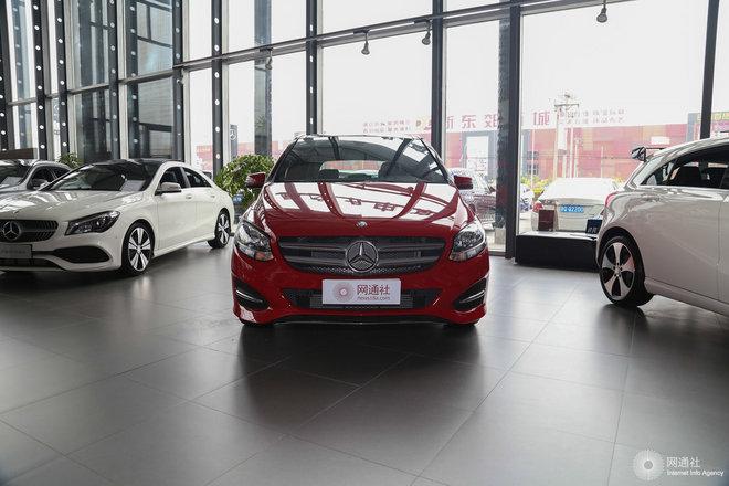 奔驰B级平价销售22.58万起 可试乘试