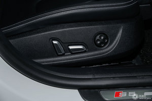 进口奥迪S5 副驾座椅调节