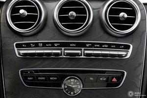 进口奔驰C级 空调调节