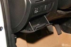 长安逸动XT 驾驶席左侧下方储物格