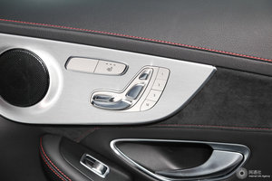 进口奔驰C级AMG 副驾座椅调节