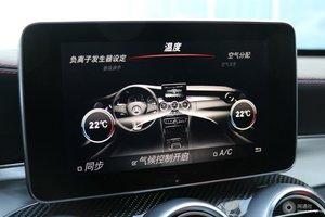 进口奔驰C级AMG 中央显示屏
