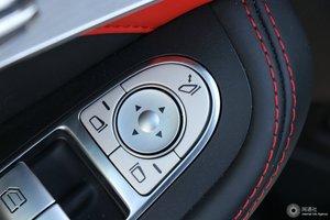 进口奔驰C级AMG 外后视镜调节控制