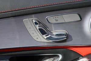 进口奔驰C级AMG 主驾座椅调节