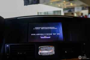 进口英菲尼迪Q70L 中央显示屏