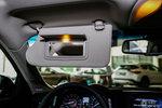 英菲尼迪Q70L 驾驶位遮阳板
