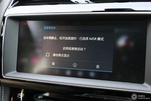 捷豹F-PACE             中央显示屏
