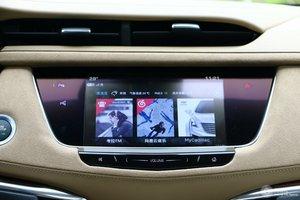 凯迪拉克XT5 中央显示屏