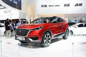 奔腾X6 车展