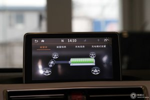 江淮iEV6E 中央显示屏