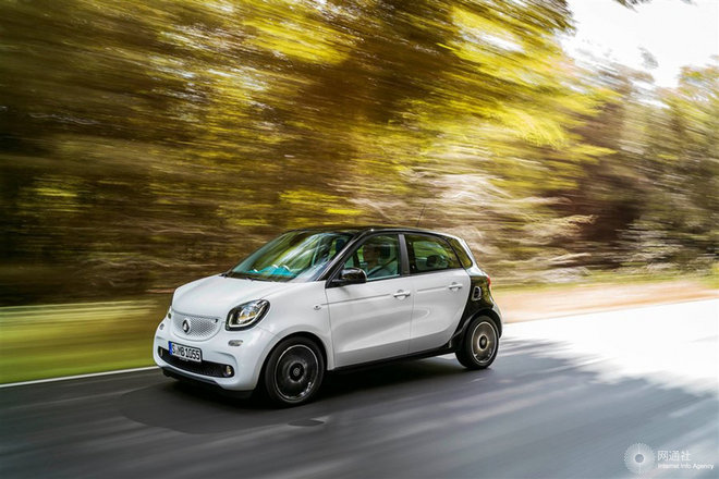 smart forfour 官方图