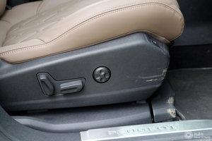 标致5008 副驾座椅调节