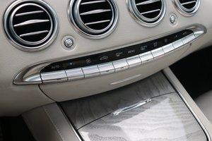 进口奔驰S级 空调调节