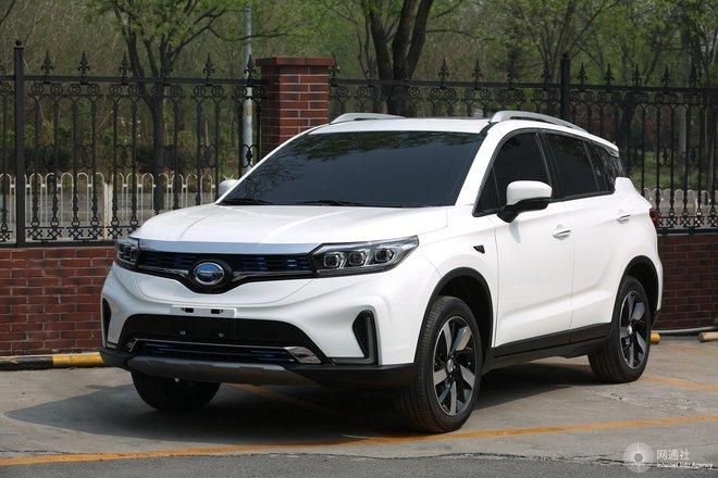 广汽ix4 EV 外观整体