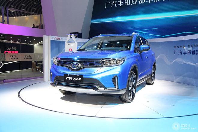 广汽ix4 EV 车展