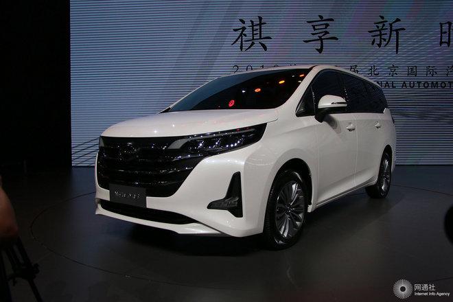 广汽传祺GM6 车展