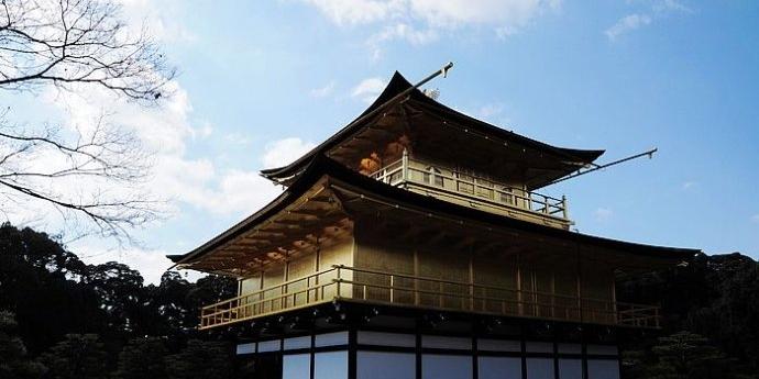【日本·京都】金阁寺里的一休哥祝福