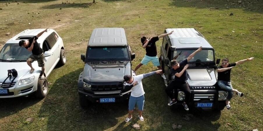 五个老司机带着梦想完成了丁香峡谷穿越之旅