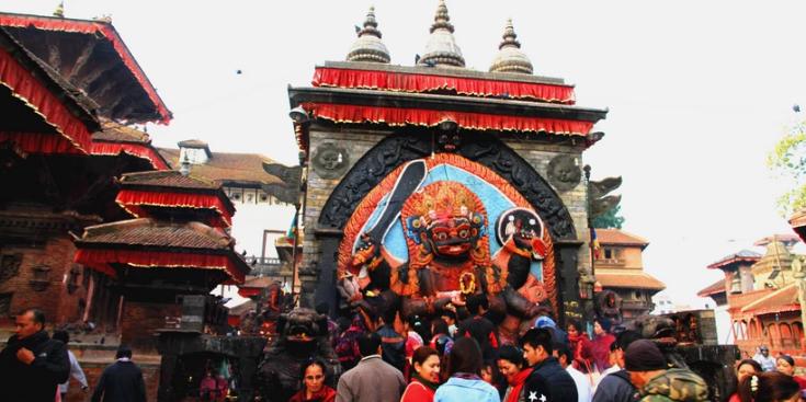 神秘的尼泊尔土地 永恒的记忆