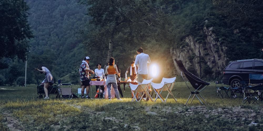 极趣周末 露营 野餐 暴雨,买三送一的野游了解一下