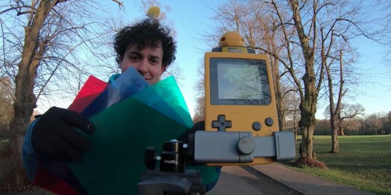 纯属娱乐 海外摄影师教你用任天堂Gameboy拍摄彩色照片