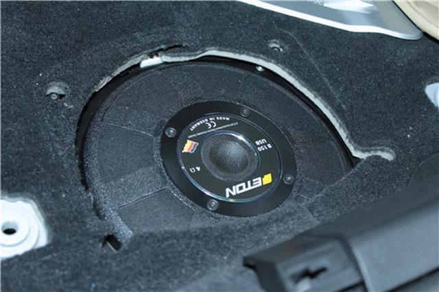 宝马530le混动汽车音响改装伊顿宝马专用三分频