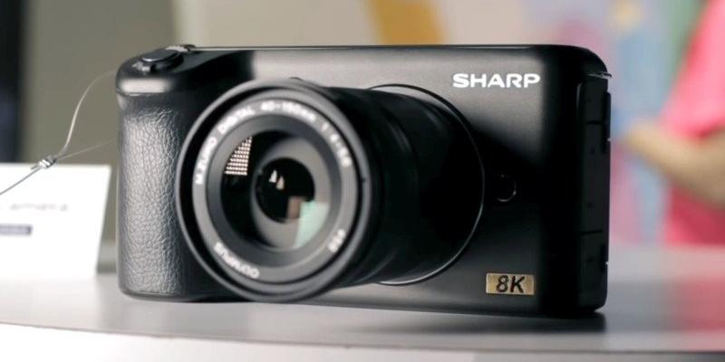 惊不惊喜意不意外!夏普正在生产8K无反相机