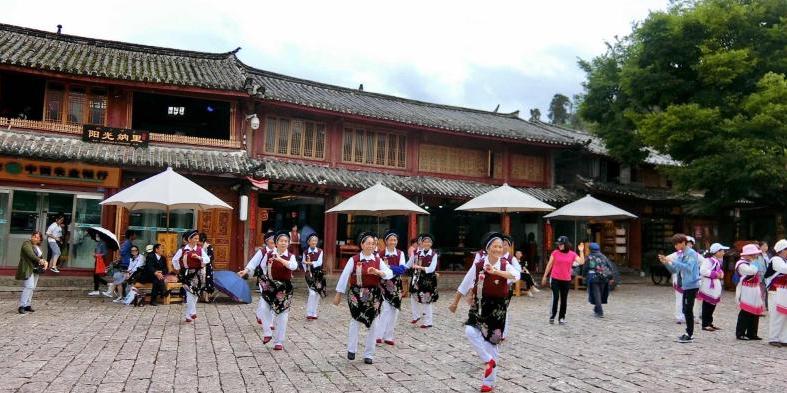 丽江古城,现在很商业化,但还是必来的丽江旅游胜地。