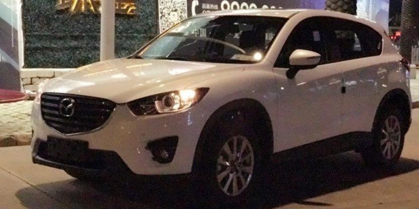 比起CX-4,马自达CX-5更有SUV的味道。