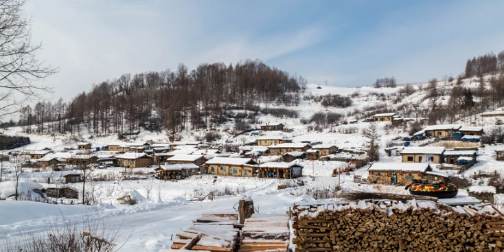 中国最后的木屋村落 极有特色的锦江木屋村