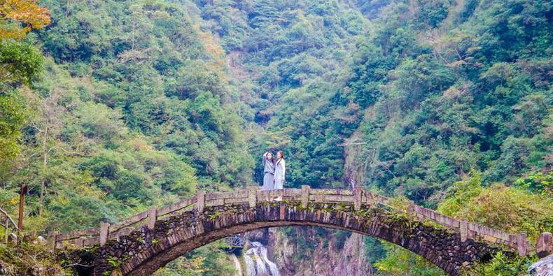 龙湾潭国家森林公园,青云志原来在这取景