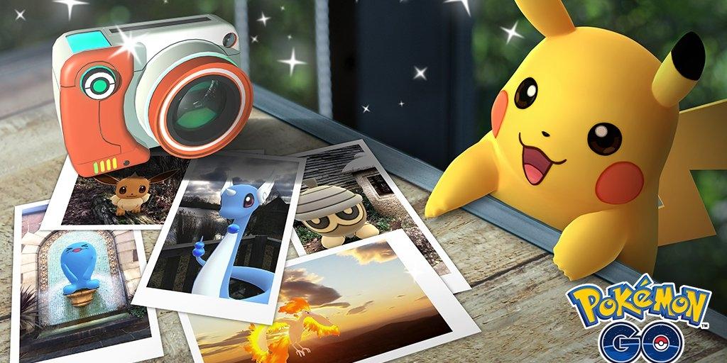 再次打破次元壁!Pokemon Go推出AR相机功能!